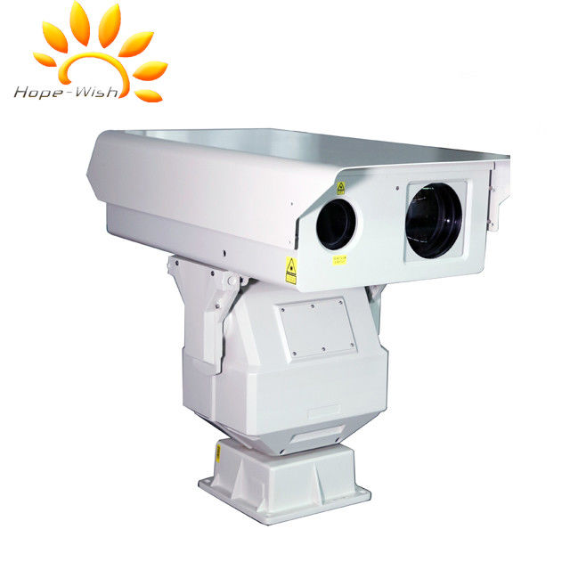 Night Vision PTZ Long Range Infrared Camera With 3km Laser Illumination