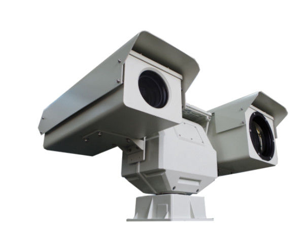 IP66 Protection Dual Thermal Camera , Vehicle PTZ Security Camera