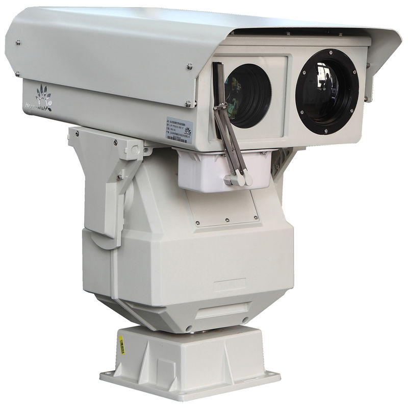 Railway Surveillance Dual Thermal Camera With PTZ Infrared Monitoring