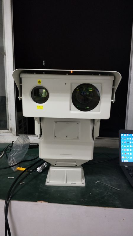 HD CCTV Long Distance Infrared Camera , City Surveillance Laser Night Vision Camera