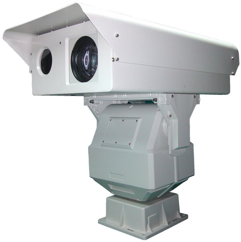 Double Window Long Range Infrared Camera IP66 For 2km Railway Surveillance