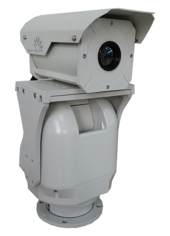 Double FOV Infrared Long Range Thermal Camera , Railway HD CCTV Camera