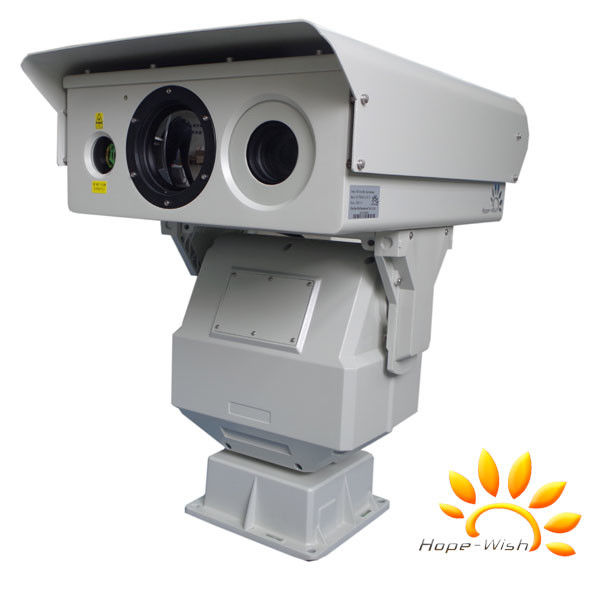 PTZ Infrared Thermal Camera Imaging , Dustproof Laser Security Camera