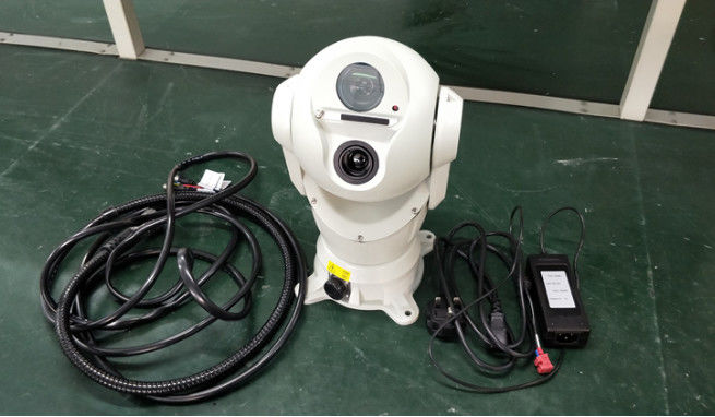 Vehicle Mounted Long Range Thermal Imaging Camera Double Vision For Police Patrol