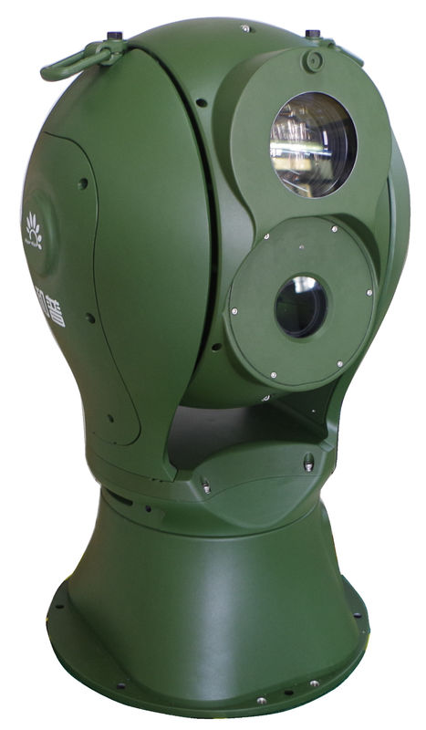 High Resolution Thermal Surveillance System For 20km Border Security With Radar Linkage
